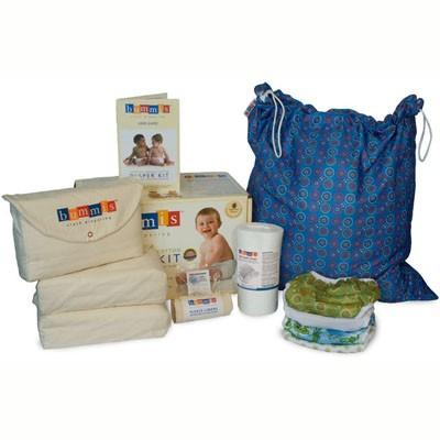 Bummis prefold cloth diaper package
