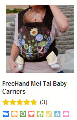 Free Hand baby carrier at bynature.ca