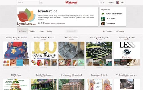 bynature.ca on Pinterest