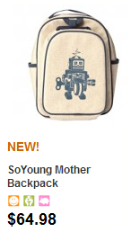 SoYoung Kid's Backpack at bynature.ca