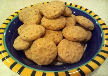 Lemony Cornmeal Shortbread Recipe
