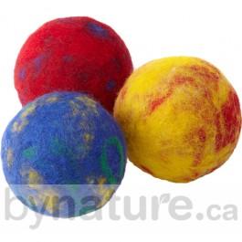 DIY Felted Wool Balls
