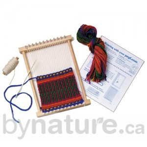 Wooden Weaving Loom Kit for a Child