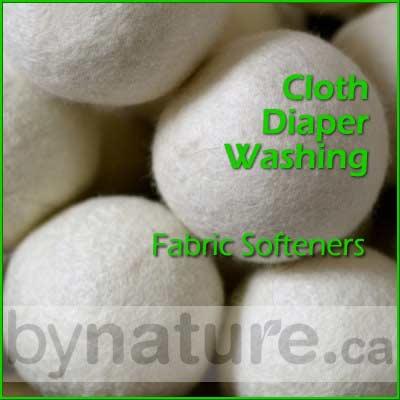 Cloth Diaper Fabric Softeners