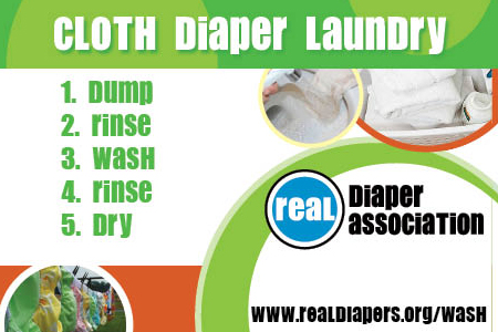 Cloth Diaper Washing in 5 Easy Steps