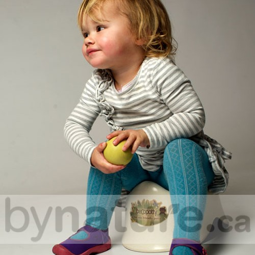 Biodegradable potty chair from Beco