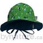 Reversible baby sun hat