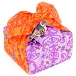 Reusable birthday gift wrap