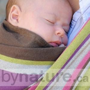 Neobulle handwoven baby wrap France