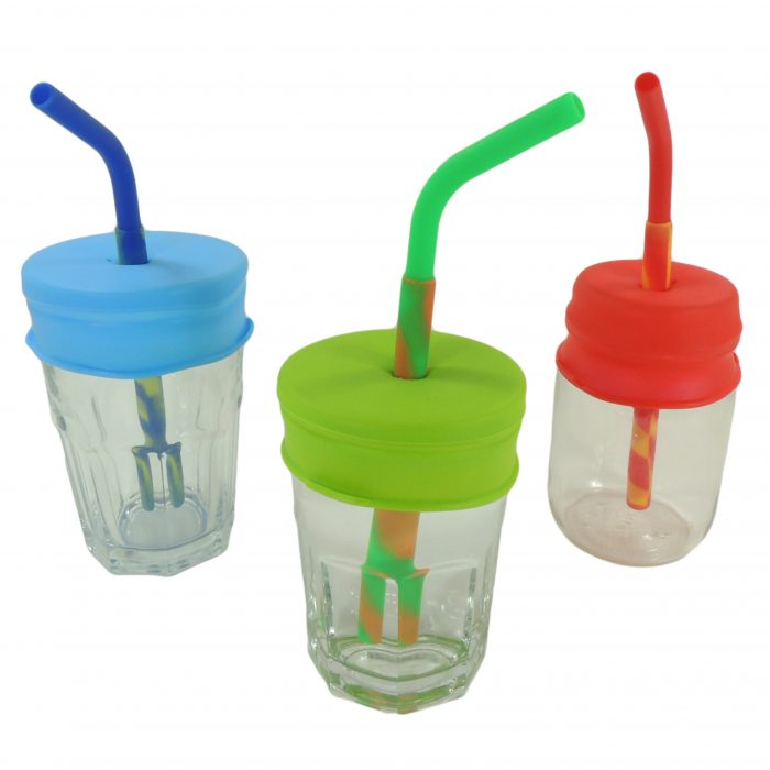 Silicone jar set for children's food