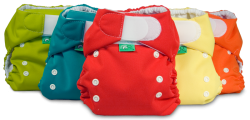 Pocket Tots cloth pocket diapers from Tots Bots