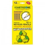 EarthZone recycled newspaper pencils
