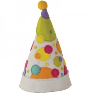 Reusable kids birthday party hat